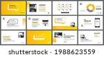 presentation and slide layout...   Shutterstock .eps vector #1988623559