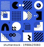 vector seamless pattern with... | Shutterstock .eps vector #1988625083