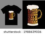 pale larger beer brown paleale... | Shutterstock .eps vector #1988639036