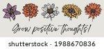 vintage romantic wild flowers...   Shutterstock .eps vector #1988670836