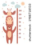 height charts for children's...   Shutterstock .eps vector #1988718533