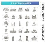 simple linear vector icon set... | Shutterstock .eps vector #1988745836