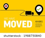 We Are Moving From One Address...