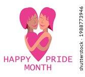 happy pride month background...   Shutterstock .eps vector #1988773946