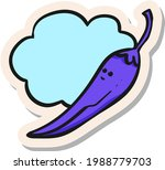 hand drawn chili characters in...   Shutterstock .eps vector #1988779703