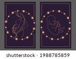 magic banner  boho design. the... | Shutterstock .eps vector #1988785859