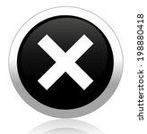 delete remove button | Shutterstock . vector #198880418
