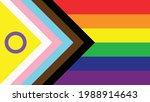 new lgbtq  rights pride flag  | Shutterstock .eps vector #1988914643