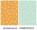 cute daisies seamless twin... | Shutterstock .eps vector #1988934323
