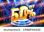 up to 50 off sale banner ...   Shutterstock .eps vector #1988944430