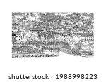 building view with landmark of... | Shutterstock .eps vector #1988998223