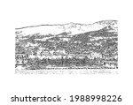 building view with landmark of... | Shutterstock .eps vector #1988998226