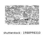 building view with landmark of... | Shutterstock .eps vector #1988998310