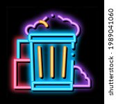 container with rubbish trash... | Shutterstock .eps vector #1989041060