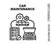 car maintenance vector icon... | Shutterstock .eps vector #1989041180