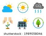 electric renewable energy icon... | Shutterstock .eps vector #1989058046