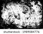 the grunge texture is black and ... | Shutterstock .eps vector #1989084776