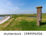 Panoramic View Over The Dike...