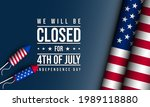 united states independence day... | Shutterstock .eps vector #1989118880