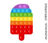 trendy antistress sensory toy... | Shutterstock .eps vector #1989149063