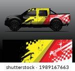 truck decal graphic wrap vector ... | Shutterstock .eps vector #1989167663