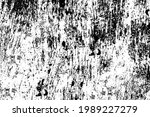 the grunge texture is black and ... | Shutterstock .eps vector #1989227279