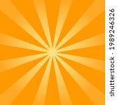 starburst  sunburst background. ...   Shutterstock .eps vector #1989246326
