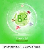 Vitamin B2 Green Shining....