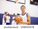 portrait of high school... | Shutterstock . vector #198943478