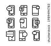 sms icon or logo isolated sign...
