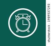 clock icon. alarm sign. vector...   Shutterstock .eps vector #1989537293