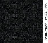 digital black camouflage ... | Shutterstock .eps vector #1989573446