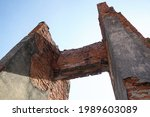Old Stone Doorway  Ayutthaya...