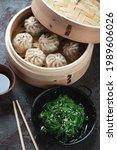 Asian Soup Dumplings In A...