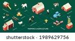 farming stock raising... | Shutterstock .eps vector #1989629756