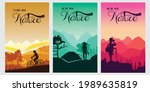 camping cover arts   flat...   Shutterstock .eps vector #1989635819