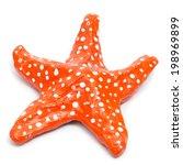 Closeup Of A Fake Seastar On A...
