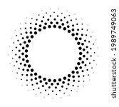 circle fade dot. effect...   Shutterstock .eps vector #1989749063