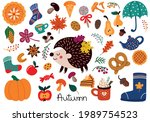 collection of vector... | Shutterstock .eps vector #1989754523
