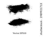 brush strokes watercolor...   Shutterstock .eps vector #1989921713