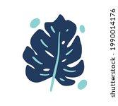 vector hand drawn illustration... | Shutterstock .eps vector #1990014176