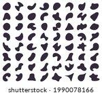 abstract shapes. random blob...   Shutterstock .eps vector #1990078166