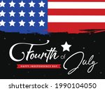 fourth of july lettering...   Shutterstock .eps vector #1990104050