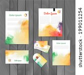 Vector corporate identity, triangular background. Abstract backdrop.Geometric banners design template. Corporate identity business set. Identity Design Template. Brand, Card, envelope. CD cover