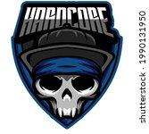 elements hardcore esport logo... | Shutterstock .eps vector #1990131950