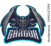 elements gargon esports logo... | Shutterstock .eps vector #1990137359