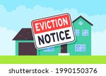 house eviction notice legal... | Shutterstock .eps vector #1990150376
