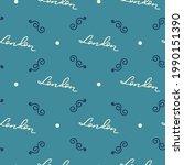 seamless vector pattern of...   Shutterstock .eps vector #1990151390