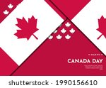 canada day celebration...   Shutterstock .eps vector #1990156610