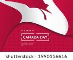 canada day celebration...   Shutterstock .eps vector #1990156616